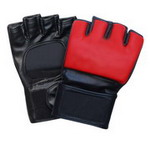 Synthetic Leather MMA Glove